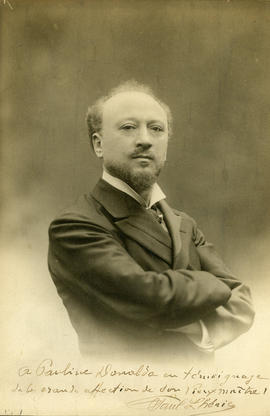 Photograph of Paul Lhérie (Lévy)