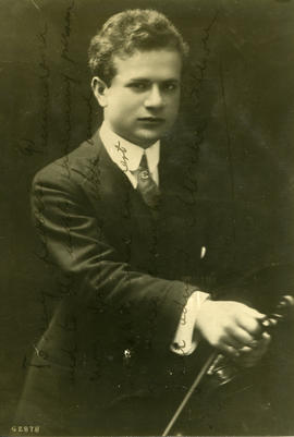 Photograph of Mischa Elman