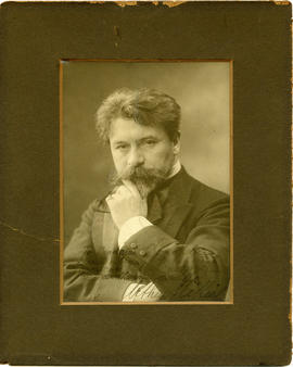 Photograph of Arthur Nikisch