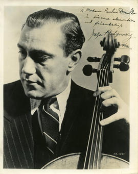 Photograph of Gregor Piatigorsky