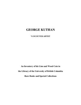 George Kuthan fonds