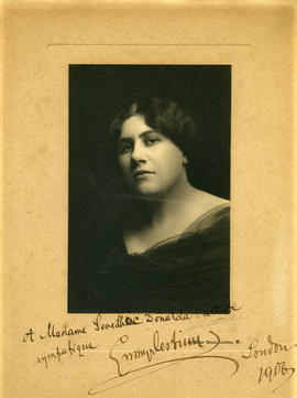 Photograph of Emmy Destinn