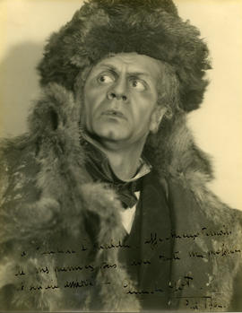 Photograph of Claude Got (in costume)
