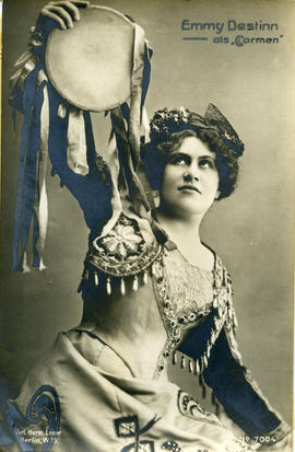Photograph of Emmy Destinn (in costume)