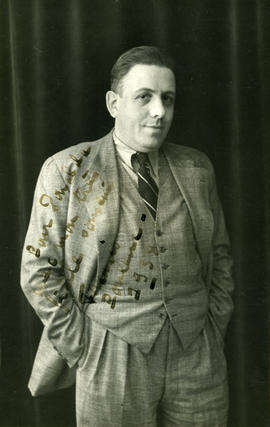 Photograph of Francis Poulenc