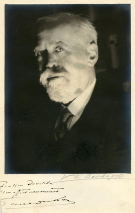 Photograph of Paul Dukas