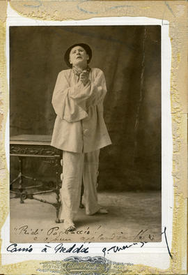 Photograph of Eustase Thomas (de Salignac or Thomas-Salignac) (in costume)