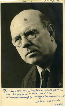 Photograph of Pablo Casals