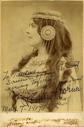 Photograph of Louise Homer (in costume)