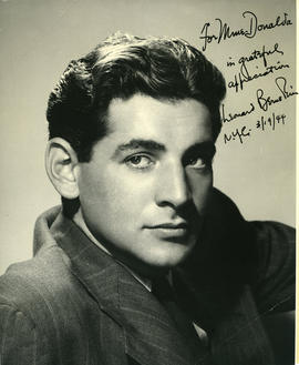 Photograph of Leonard Bernstein